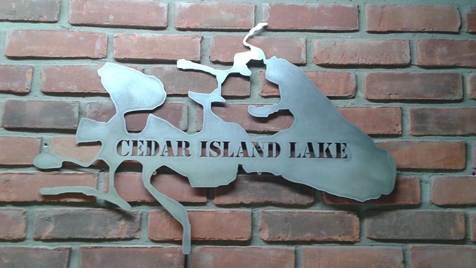 Michigan Man Cave Signs : Metal signs in michigan triple j ductwork